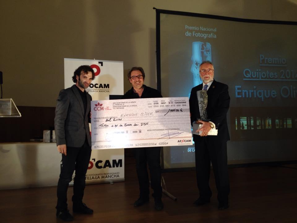 Premio Quijotes 2014 - Enrique Oliver