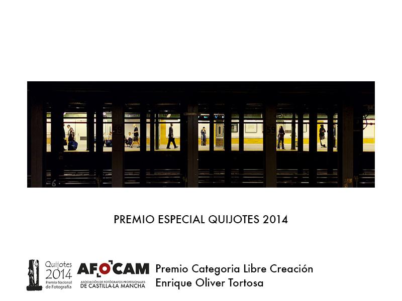 Premio Quijotes 2014 y Categoría Libre Creacción - Enrique Oliver Tortosa